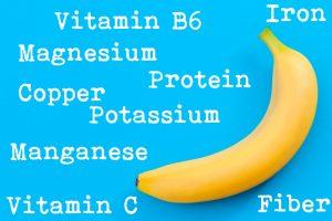 vitamins and minerals in banana