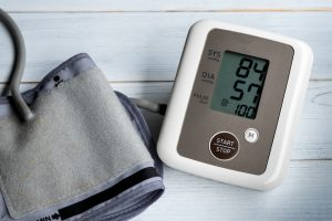 low blood pressure on monitor