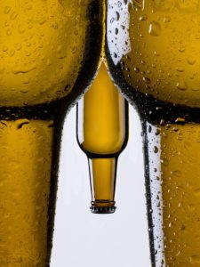 beer bottle and male erection