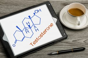 testosterone and caffeine