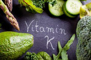 Vitamin K rich vegetables