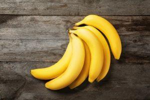 bananas on table