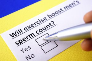will exercise boost sperm count
