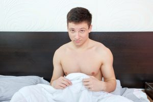 man concerned with erectile dysfunction