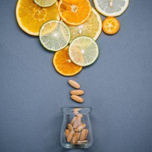 vitamin C supplement from citrus