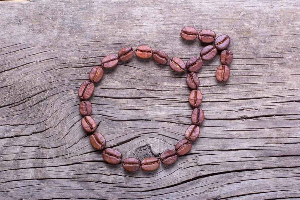 coffee beans male symbol