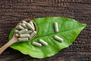 natural herbal supplement capsules