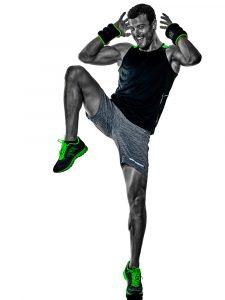 man aerobic exercise