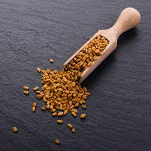 scoop of fenugreek