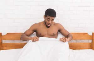 dude shocked with penile condition