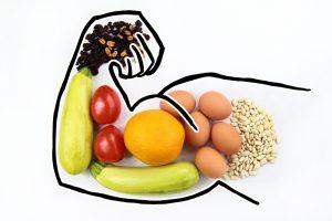 flexed arm testosterone boosting foods