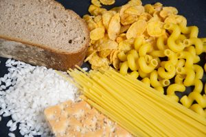 refined carbs pasta and rice