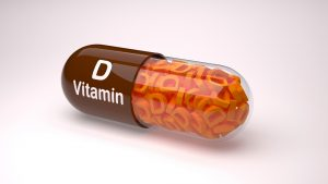 vitamin D supplement capsule