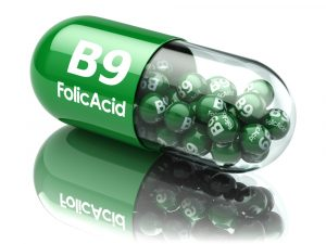 vitamin B9 folic acid capsule