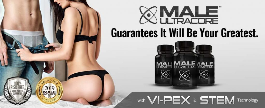 Male UltraCore Guaranteed Male Testosterone Enhancement Supplements