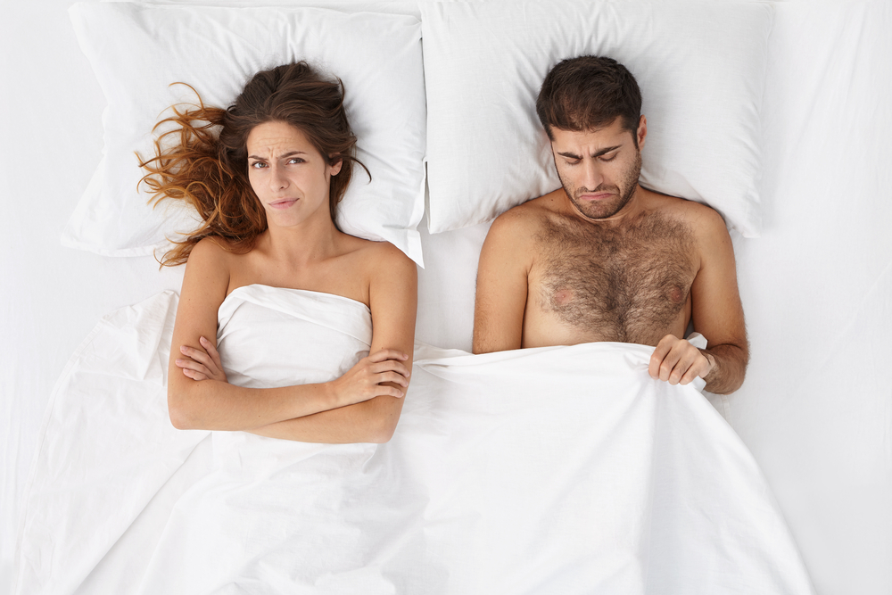 couple with sexual dysfunction problems