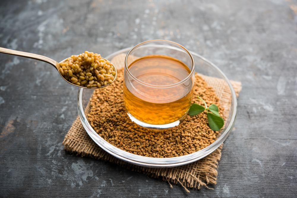 fenugreek seeds in tea