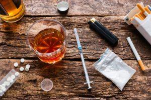 bad habits, alcohol, smoking, drugs