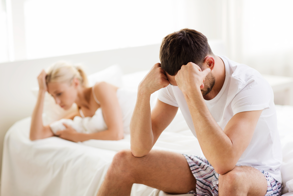 couple with impotence issues