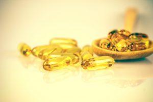 vitamin E soft gel capsules