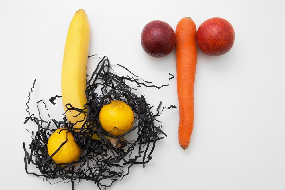 food as male sexual organs