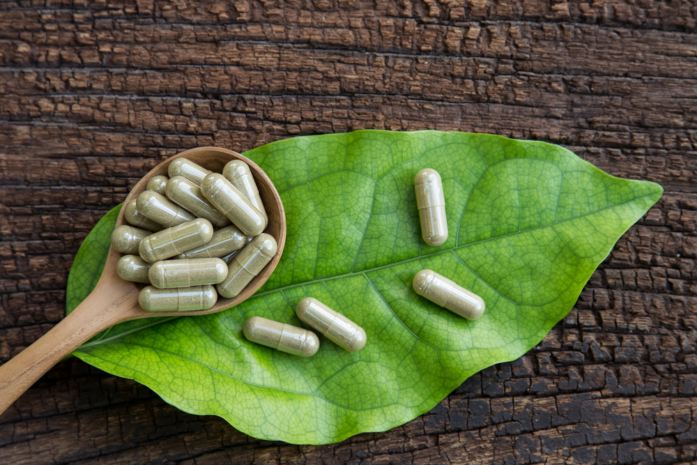 herbal supplement capsules