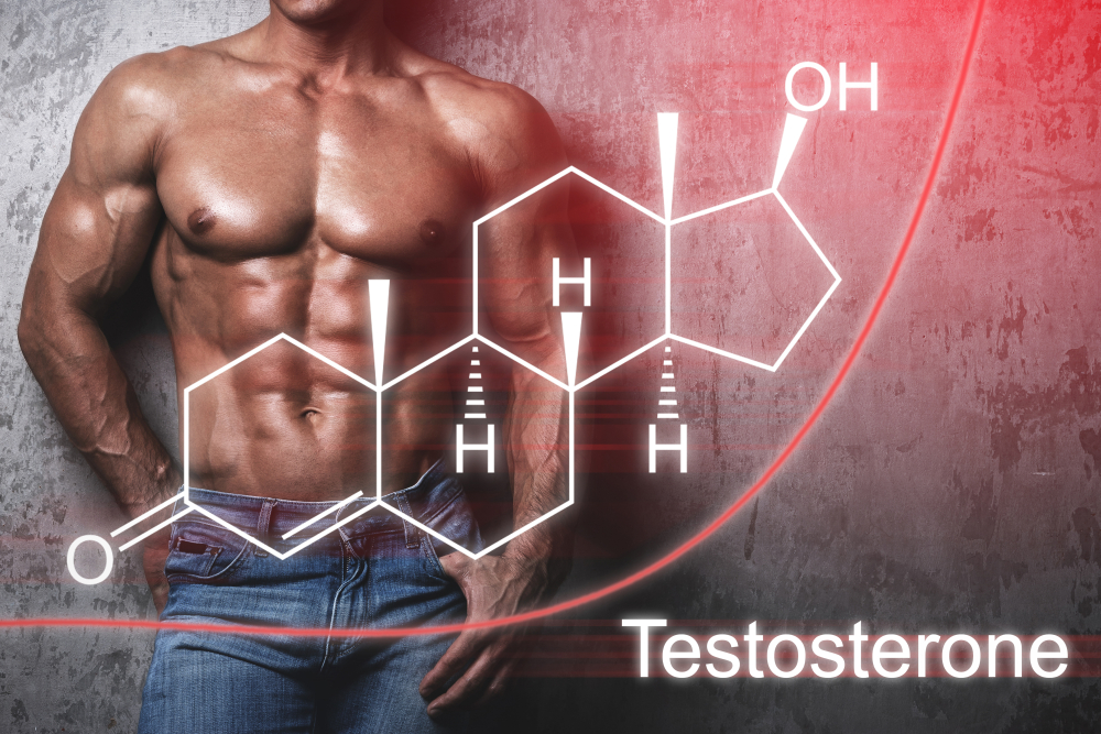 man and testosterone