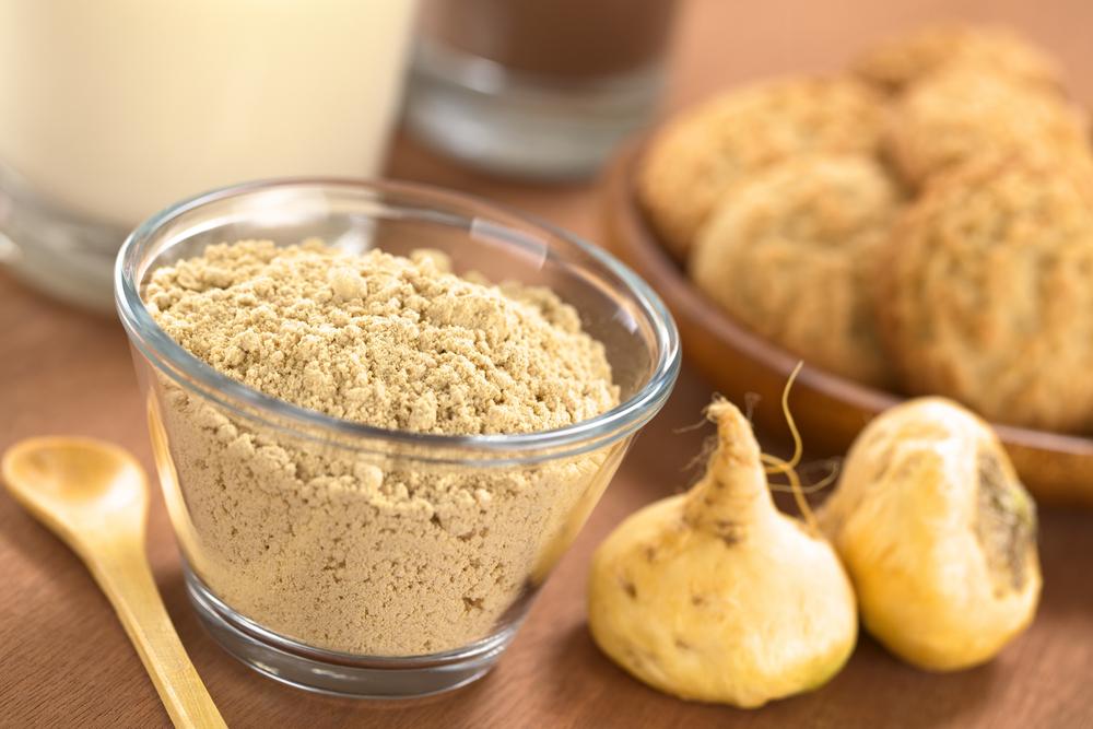 maca root and powder