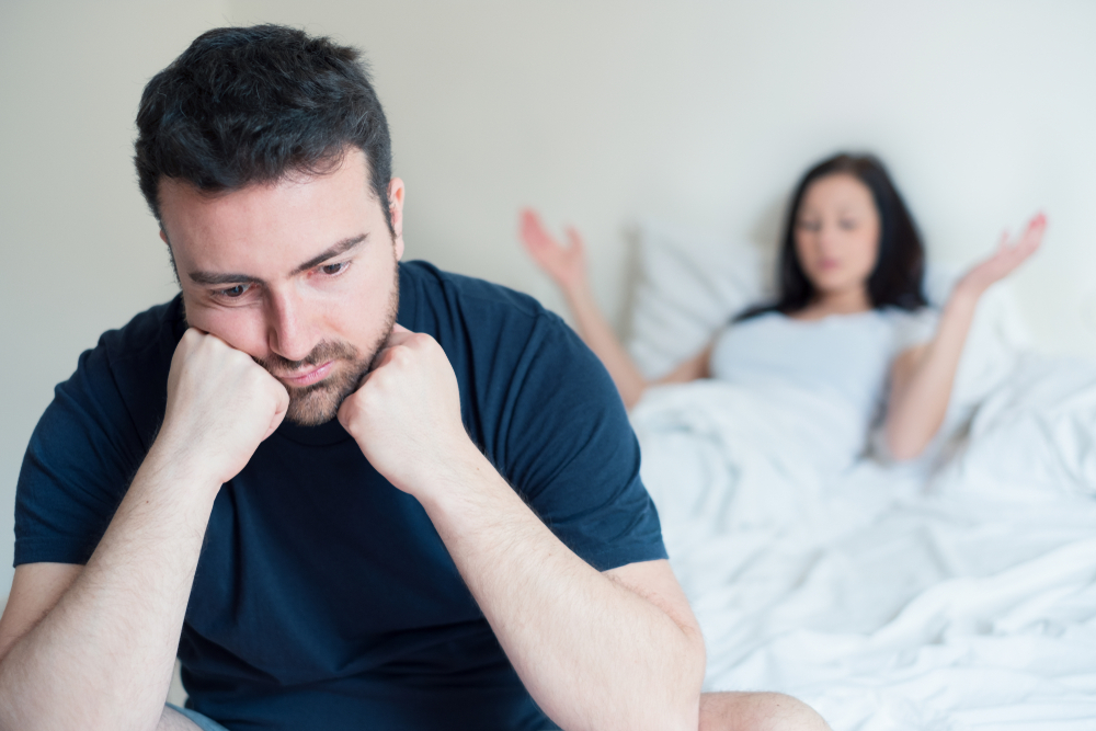 couple with bedroom issues