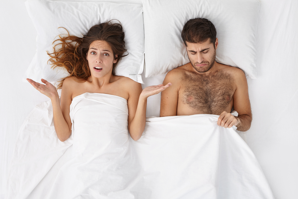 wife unsatisfied with his performance