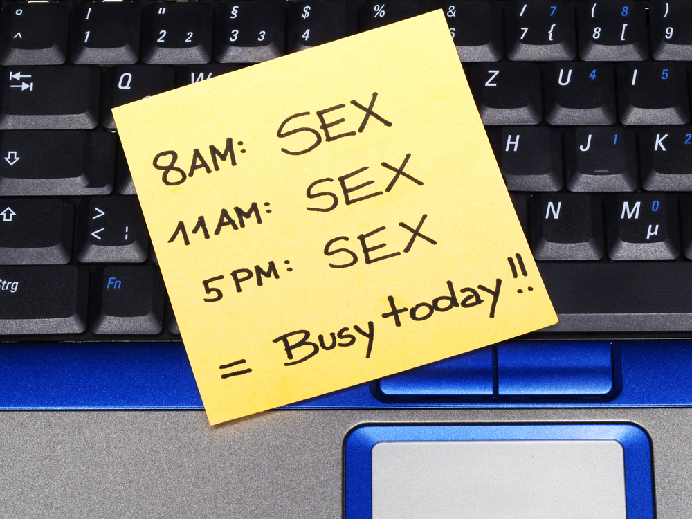 sex schedule busy day