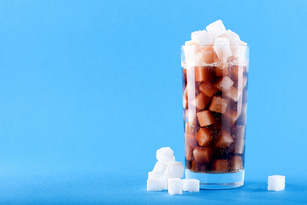 sugar loaded drink