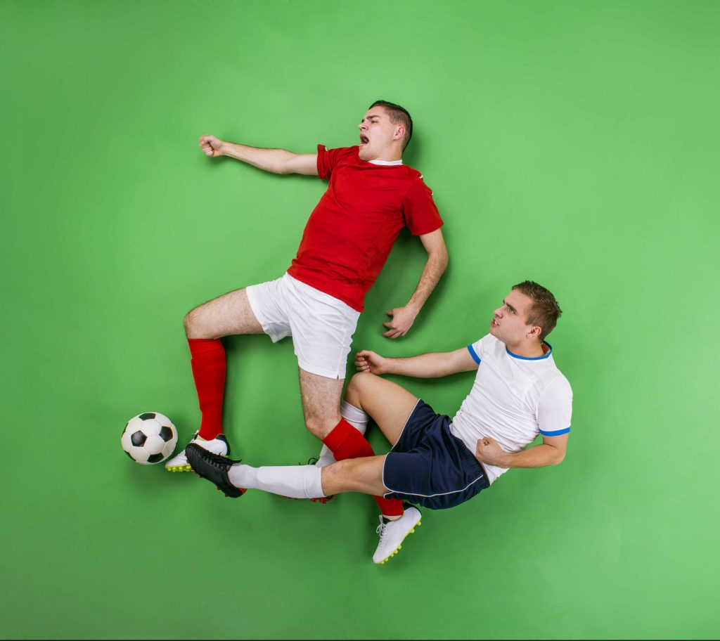 competitive soccer rivalry