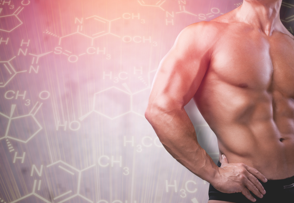 testosterone and sculpted physique