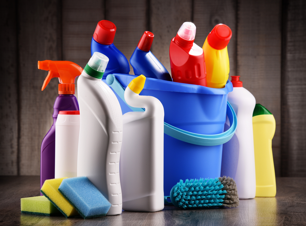 household chemicals and cleaning products