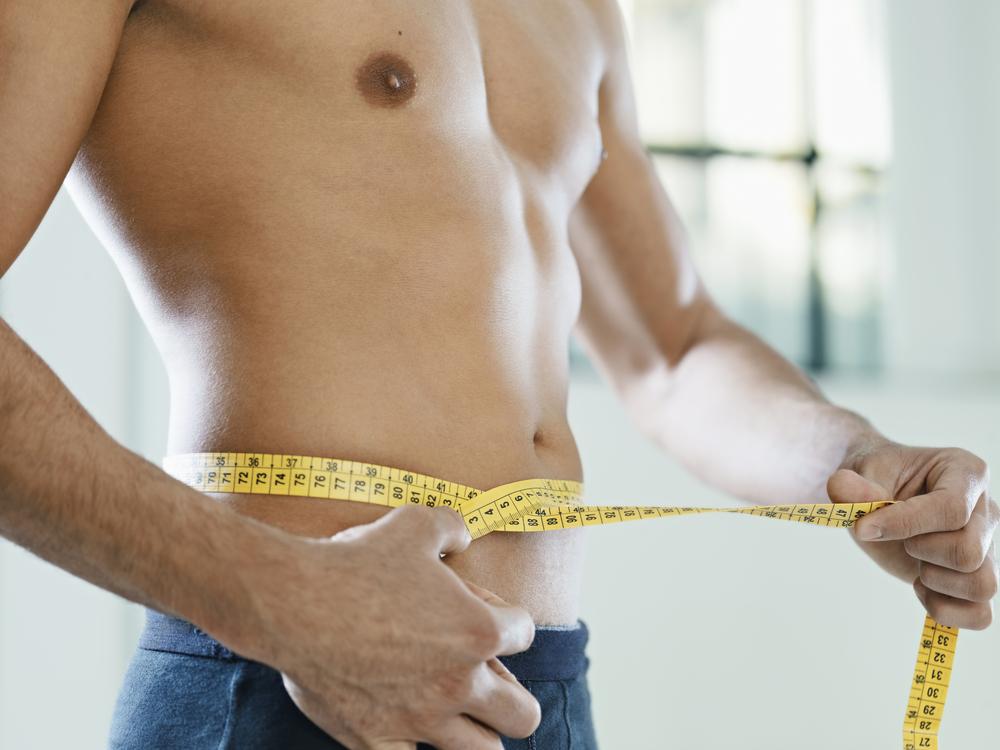 weight loss measuring waistline