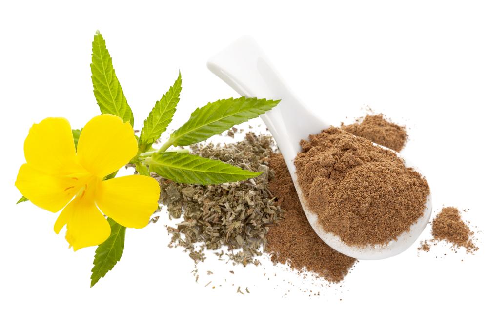 damiana flower and powder