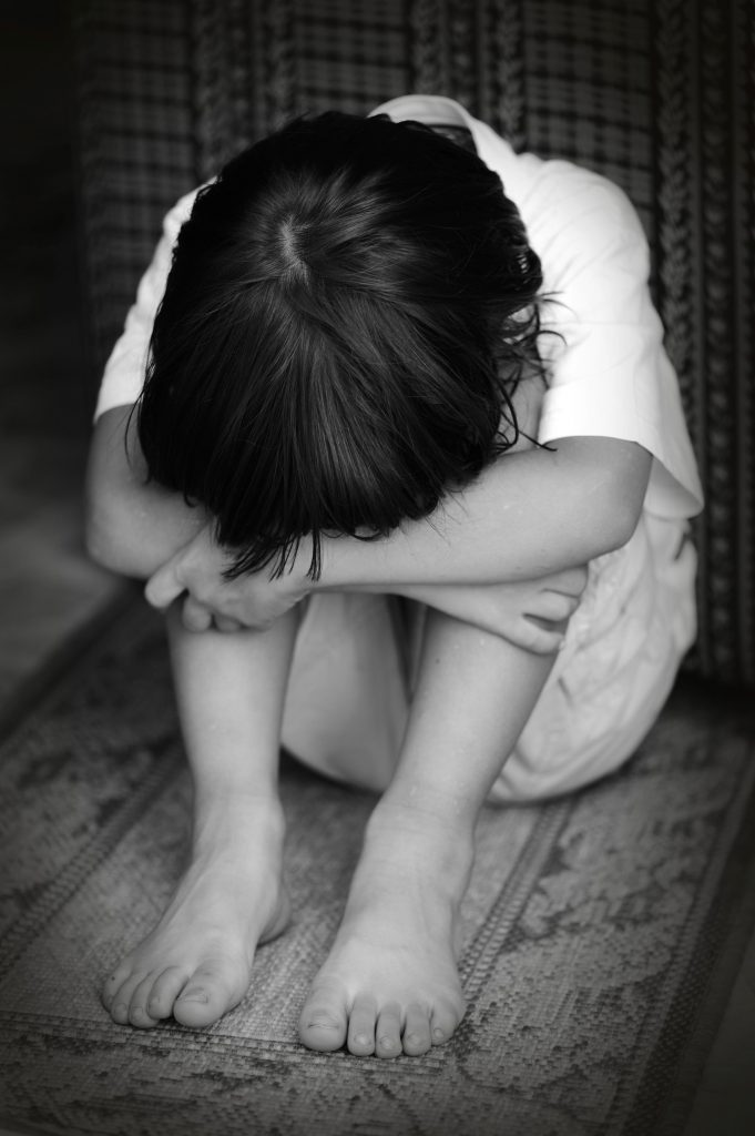 crying child trauma from abuse