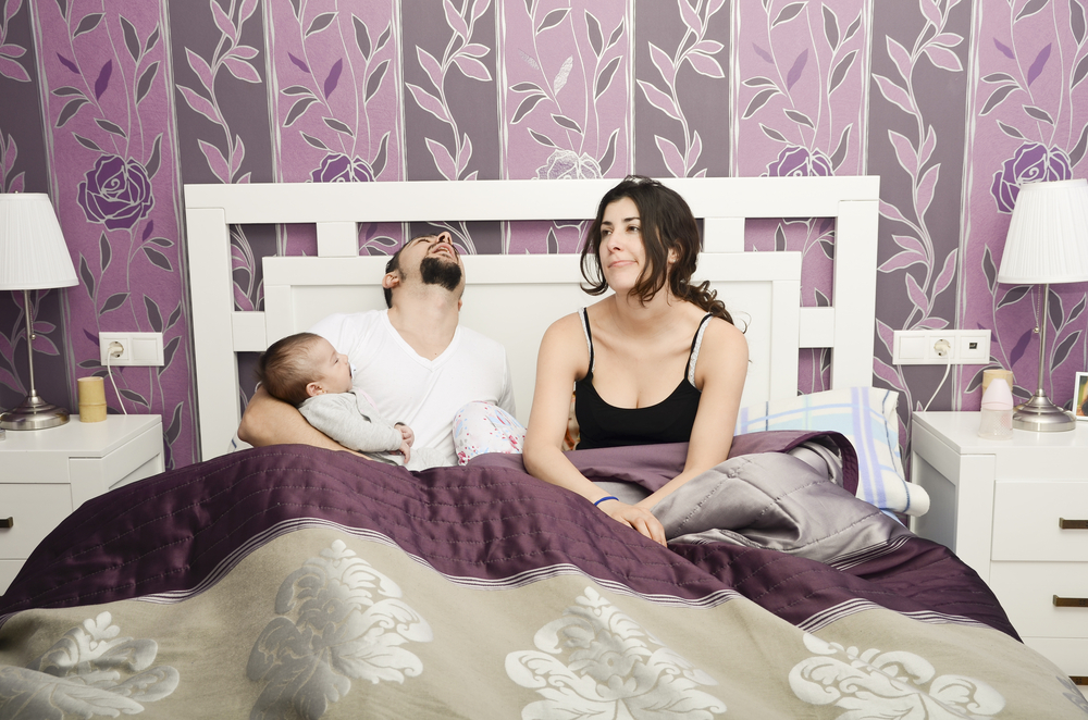 no sleep and sex after childbirth