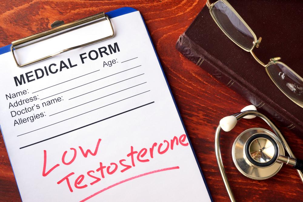 low testosterone diagnosis medical form
