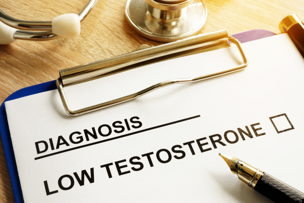 low testosterone diagnosis sheet