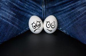 sad eggs or testicles