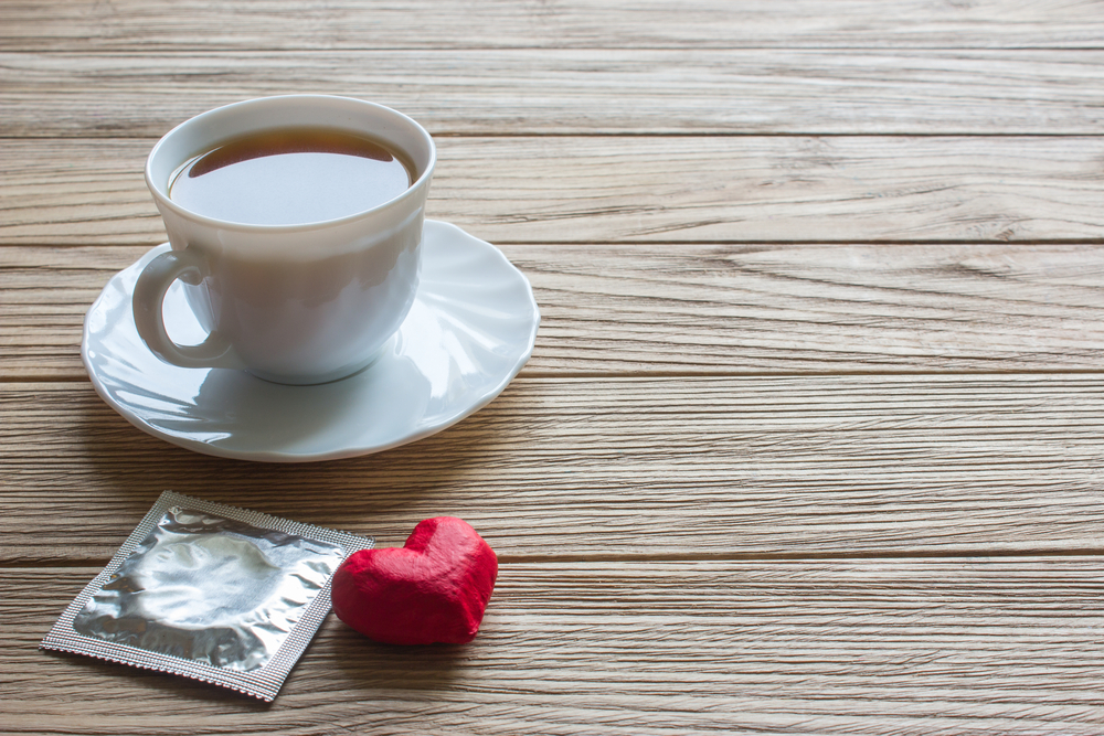 coffee and condom