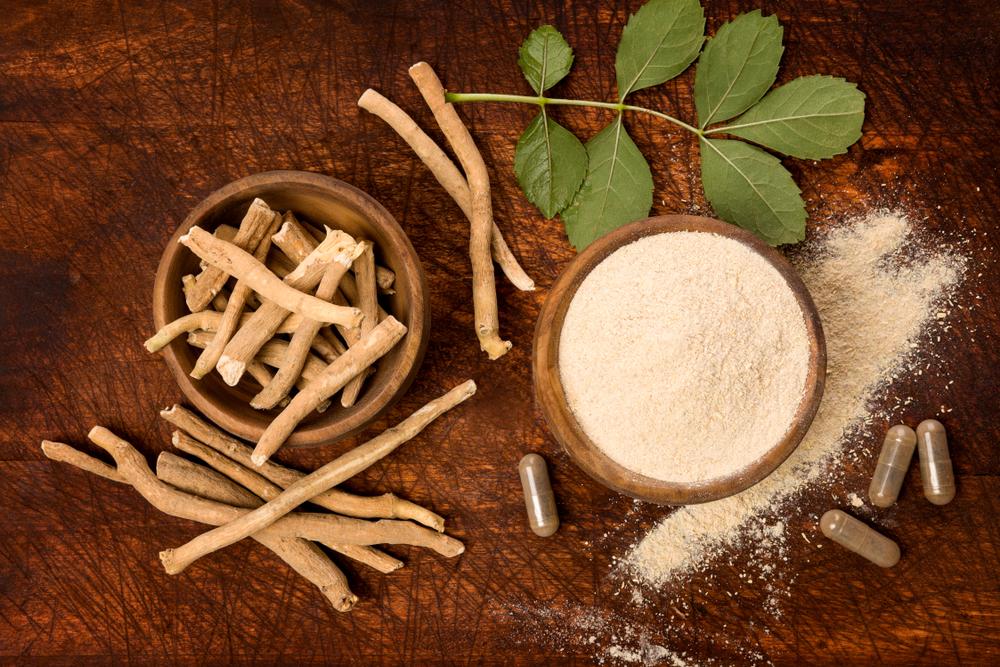 ashwagandha powder and supplement