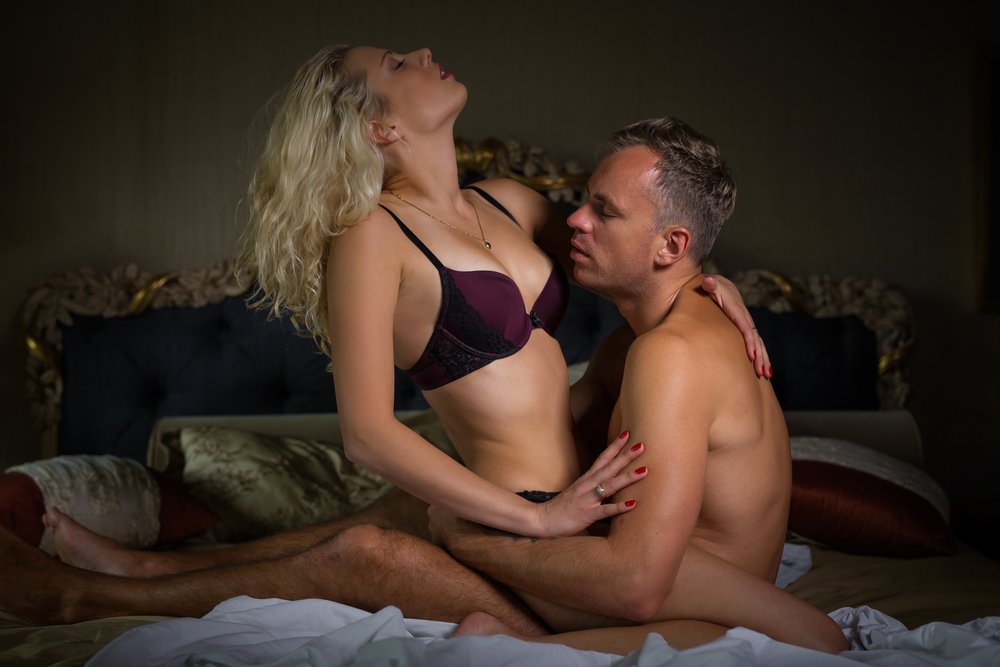 intimate sex in bedroom