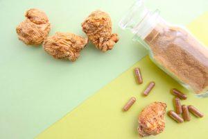 maca powder and supplement