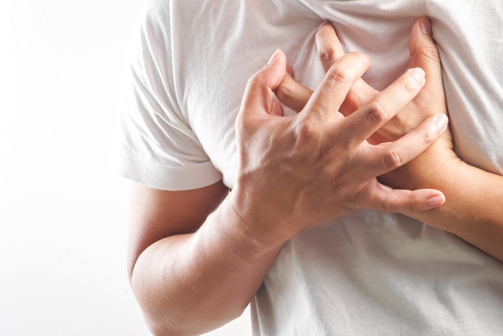 heart problems and chest pain