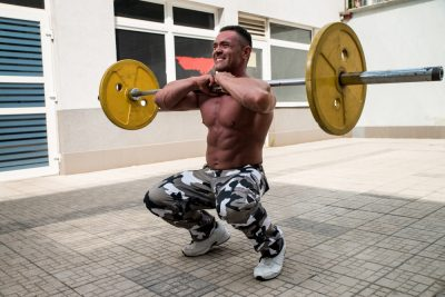 front squat hard