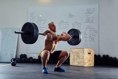 front squat form